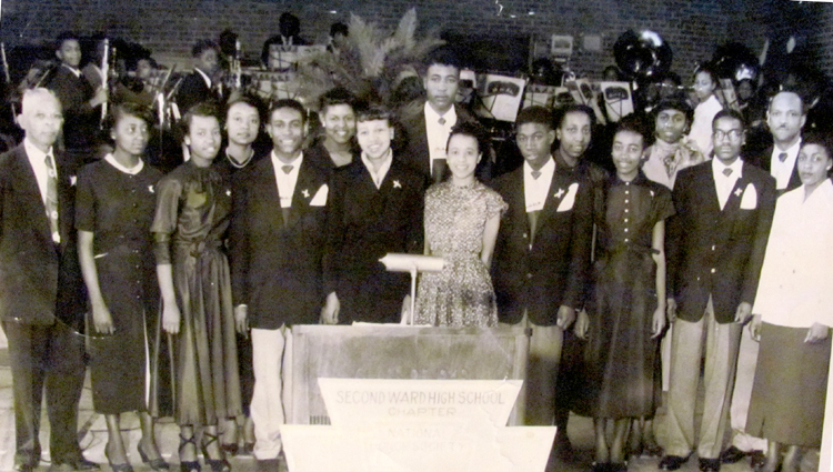 Second Ward High School National Honor Society in 1950