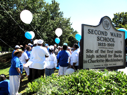 Alumni gather in Charlotte, NC to celebrate the Foundation's 30th Anniversary.