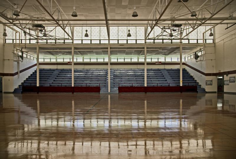 Second Ward Gym interior